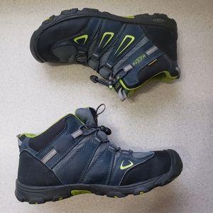 Kids KEEN OAKRIDGE Blue Boots size 38 Big Kids 6